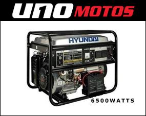 GENERADOR HYUNDAI HHY6800FE 6500watts